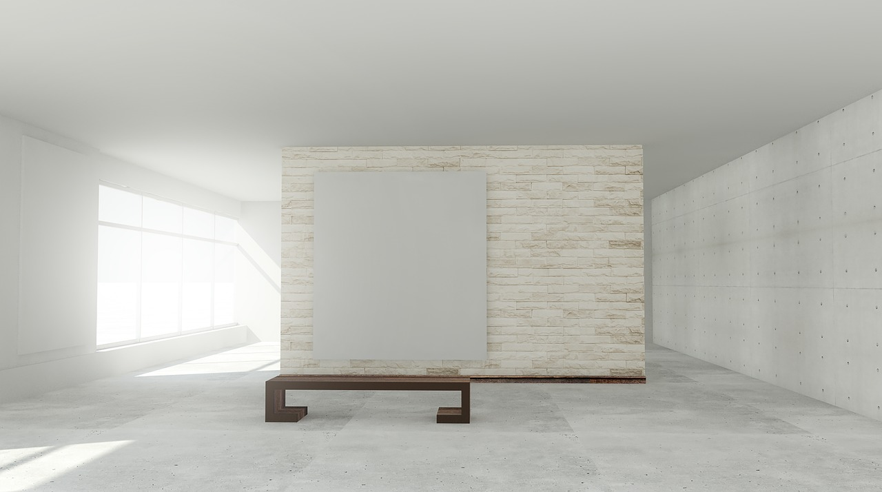 Carrelage grands formats effet beton