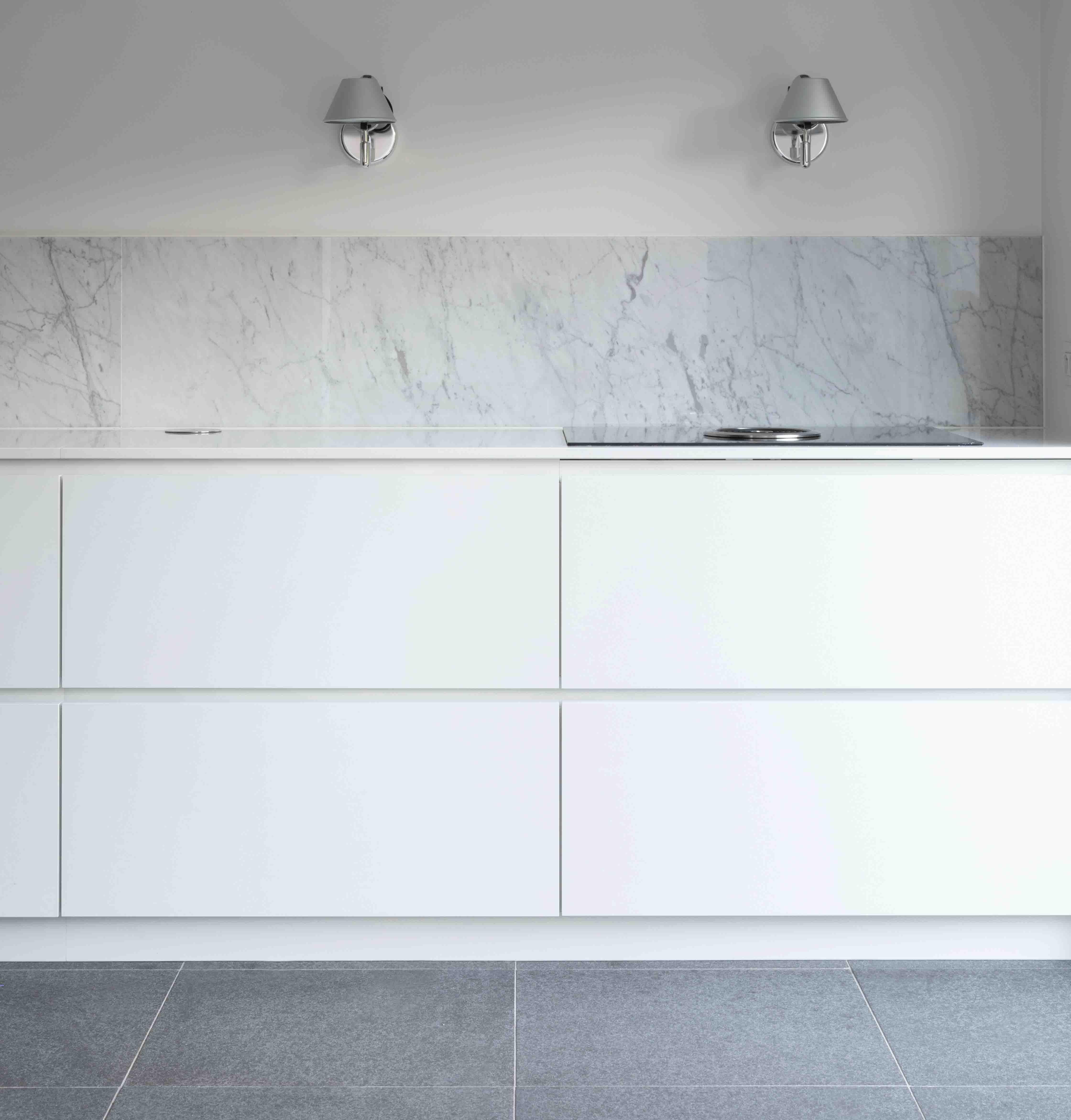 crédence cuisine marbre